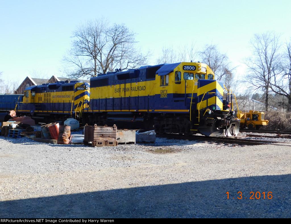 Kennett Square Railroad Yard